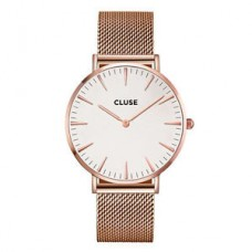 CLUSE LA BOHÈME MESH ROSE GOLD/WHITE CL18112