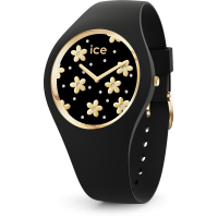 Ice Watch - Ice flower - Precious black - Swarovski - 016668